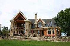 Stratified Wisconsin Limestone Home