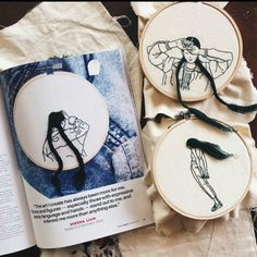 Embroidery art/ Arte bordado By Sheena Liam