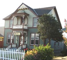 Victorian on Main Street by Historic House Colors