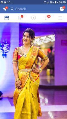 Top Trending Gorgeous Blouse Patterns For Pattu Sarees Wedding Saree Blouse Designs, Pattu Saree Blouse Designs, Blouse Neck Designs, Blouse Patterns, Saree Wedding, Wedding Bride, Lehenga Designs, Sleeve Designs, Indian Bridal Sarees