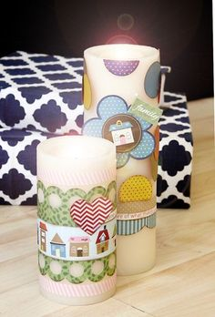 Thankful Candles by Morgan Bandkowski