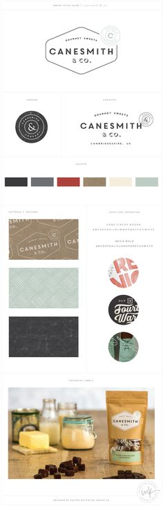 Canesmith & Co. - Salted Ink Design Co. | Logo Design, Retro, Throwback, Brand Design, Brand Stylist | by Saltedink.com
