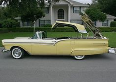 1957 Ford Skyliner Retractable Convertible Maintenance of old vehicles: the material for new cogs/casters/gears/pads could be cast polyamide which I (Cast polyamide) can produce