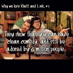 """...""""So true... One of the many reasons I love this show... It's clean and still hilarious."""""""