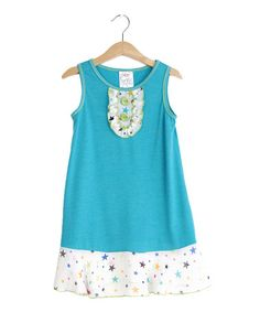 Loving this Jade Ruffle Dress - Kids & Tween on #zulily! #zulilyfinds