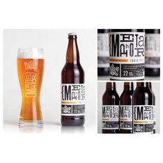 Neat beer labels #packaging #design