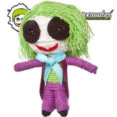 Voomates String Doll Voodoo-Puppen - handgemachte Sorgen-P�ppchen Fingerpuppen - Die Handpuppen mit 81 Modelle - Crazy Clown (Joker)