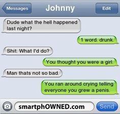 Epic Drunk Text Fails - Likes