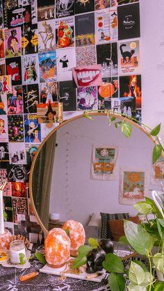 Indie Room Decor, Cute Bedroom Decor, Room Design Bedroom, Aesthetic Room Decor, Room Ideas Bedroom, Witch Aesthetic, Indie Dorm Room, Bedroom Inspo, Hippie Bedroom Decor