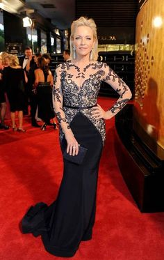 Evening wear -women over 50- Rebecca Gibney