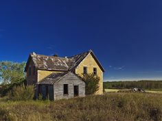 Abandoned home in Canada.