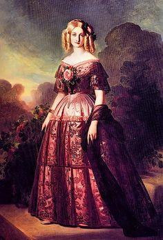 1846 Duchesse d'Aumale by Franz Xaver Winterhalter (Versailles)