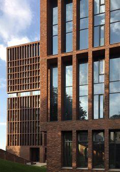 Wohnhochhaus, Moskau | Referenzen | Fassaden-Projekte | Klinkerwerk Hagemeister