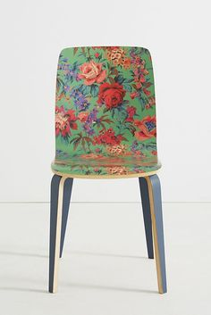 Liberty for Anthropologie Tamsin Dining Chair floral print chair Adirondack Chairs, Outdoor Chairs, Dining Room Furniture, Dining Chairs, Hanging Chair From Ceiling, Mid Century Modern Armchair, Anthropologie Home, Deco Boheme, Chair Fabric