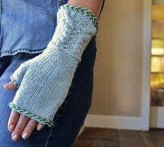 Ravelry: Rapunzel Fingerless Gloves pattern by Larissa Brown