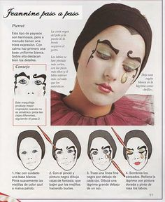 PIERROT Costumes, How to Do Keka❤❤❤