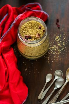 Refreshing and healthy dried fruit and spices masala powder which is used to make a very delicious and cool drink called Thandai for the celebration of Holi festival. Powder Recipe, Masala Recipe, How To Make Homemade, Dried Fruit, Other Recipes, Fun Drinks, Spices, Healthy, Food