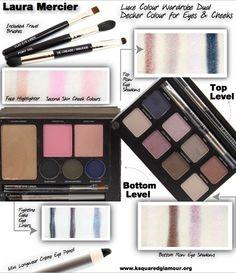 Laura Mercier Luxe Colour Wardrobe Dual Decker Colour for Eyes & Cheeks review. #lauramercier #makeup #beauty #holiday2013 #beautyblogger #bbloggers