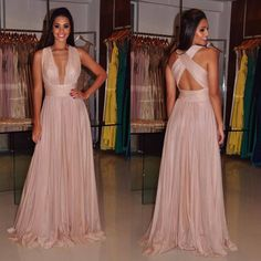 Blush pink prom dress,V-neck long prom dress,A-line backless prom gown, chiffon evening gowns, Floor Length Party Dress Blush Pink Prom Dresses, Pink Party Dresses, Straps Prom Dresses, V Neck Prom Dresses, Prom Dresses For Sale, Sexy Party Dress, Bridesmaid Dresses, Prom Gowns, Dress Prom