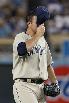 Chris Young Photos: San Diego Padres v Los Angeles Dodgers