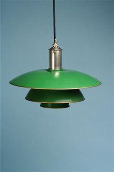 Designed by Poul Henningsen for Louis Poulsen, Denmark. 1926.