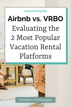 """As a vacation rental owner, I've sought to leverage my opportunities at earning income by hosting my property on Airbnb, VRBO, and other platforms. After ten years of experience, I've stuck with Airbnb and removed my listing from other competitors. VRBO is a strong competitor for larger, more unique rentals, although Airbnb has provided """"Airbnb PLUS"""" listings for years and access to retreats, experiences, and is more prominently used for rentals in urban environments. #airbnb #rental #vrbo"""