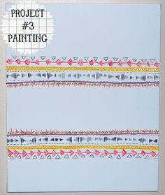 painting pattern stripes