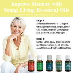 Young Living Essential Oils to help improve your memory