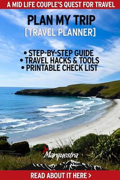 "We get asked all sorts of trip planning questions, things like ""How can I plan better and save money?"" So we put together this FREE, 8 page pdf document, filled with ""Plan My Trip tools"" to help you travel smarter. #planmytrip #travelplanner #coupletravel #planningatrip #planatriptools"
