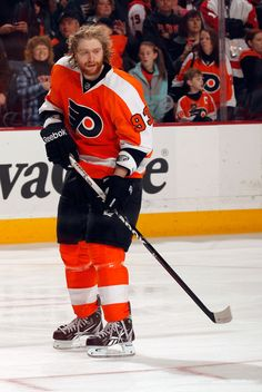 Jakub Voracek on 3/31/12