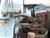 How to thread a Brother 1034d Serger.  Whoever made this video, I love you!!!