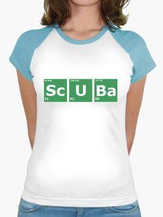 T-shirt Scuba