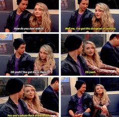 I'm starting to ship Josh & Maya...(Girl Meets World; Girl Meets First Date)