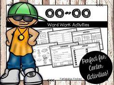 OO word work activities