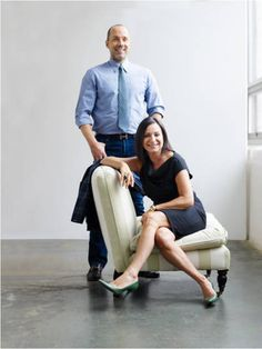 The Slipper chair: Designers Kim Alexandriuk and Harry Heissmann get the lowdown on these small, portable chairs that are as entertaining as they are versatile.