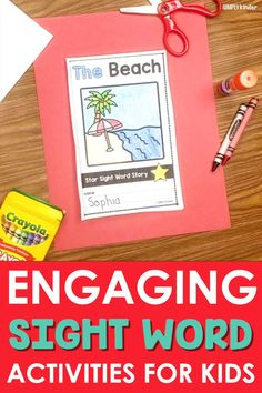 You know that you need something exciting for students to do when it comes to sight words! These books and printable activities come in over 200 words so your students can practice all of the sight words that they need to. There is plenty of practice included for each work, and kids love putting together the books. Make your life easier today and click the link!