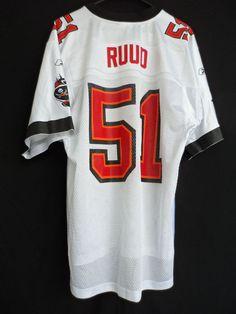 3cde0c0d1338 Tampa Bay Buccaneers NFL Jersey Barrett Ruud 51 Reebok Size M