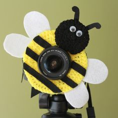 Bumble Bee Lens Buddy to help bring on the smiles by cheesypickles, $14.99