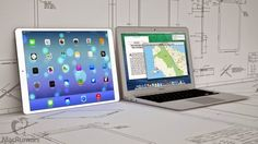 Apple iPad Pro To Feature 12.2-inch Display, 7-mm Thick
