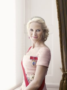 Mette-Marit, Crown Princess of Norway, is the wife of Crown Prince Haakon, heir apparent to the throne of Norway.