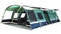 Carry on gl&ing! Thatu0027s GLAMOROUS c&ing... and hereu0027s how you do it with your family this summer  sc 1 st  Pinterest & Hi Gear Kalahari 8 - 8 Berth Tent | 8 Berth Tents with a Sewn in ...