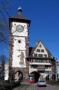 Freiburg Schwabentor - Friburgo de Brisgovia -Puerta de Suabia