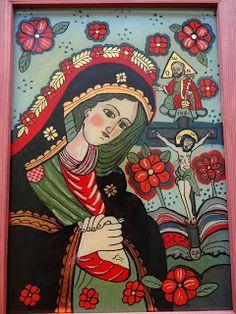 Icoane pe Sticla Religious Images, Religious Gifts, Religious Icons, Religious Art, Orthodox Icons, Mexican Folk Art, Medieval Art, Blessed Mother, Sacred Art