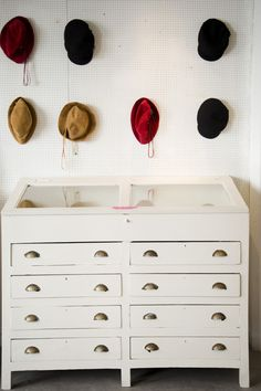 pegboard for hats