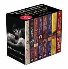 Sookie Stackhouse 8-copy Boxed Set (Sookie Stackhouse/True Blood) by Charlaine Harris, http://www.amazon.com/dp/0441018238/ref=cm_sw_r_pi_dp_11rZpb0BGAWAZ