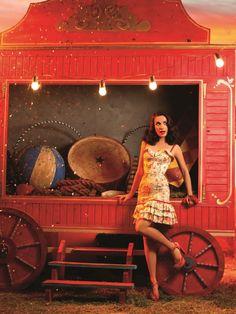 Наталья Орейро в фотосете для собственного бренда Las Oreiro