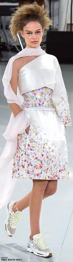 Chanel Spring 2014 Couture www.vogue.com/...