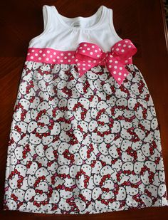 Hello Kitty t-shirt dress!
