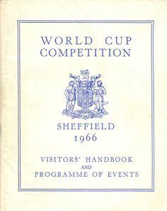 Sheffield's World Cup -visitors handbook July 1966