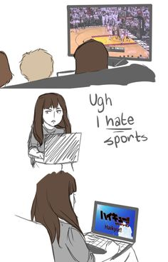 Watching Free and all the other sport animes that have got anime guys XD